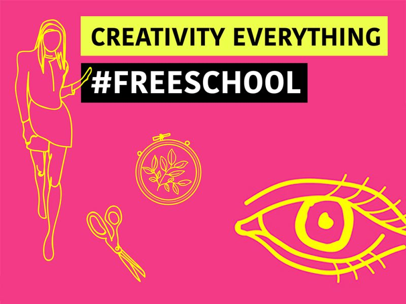 Announcing the Creativity Everything #FreeSchool