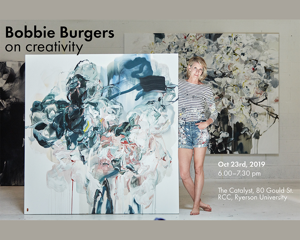 Bobbie Burgers on creativity, 23 October 2019